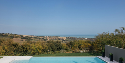 italian villa sea view