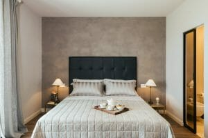 master suite double bed
